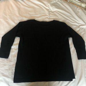 Comptoir Des Cotonniers Black Cashmere Sweater